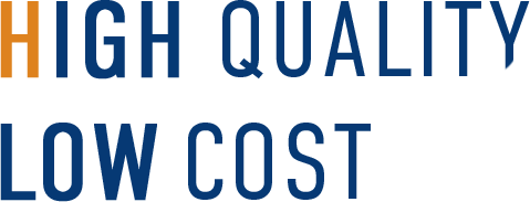 HIGH QUALITY LOW COST